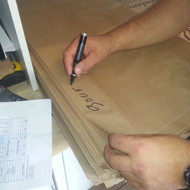 16H00 - Calcul des commandes et   préparation des sacs